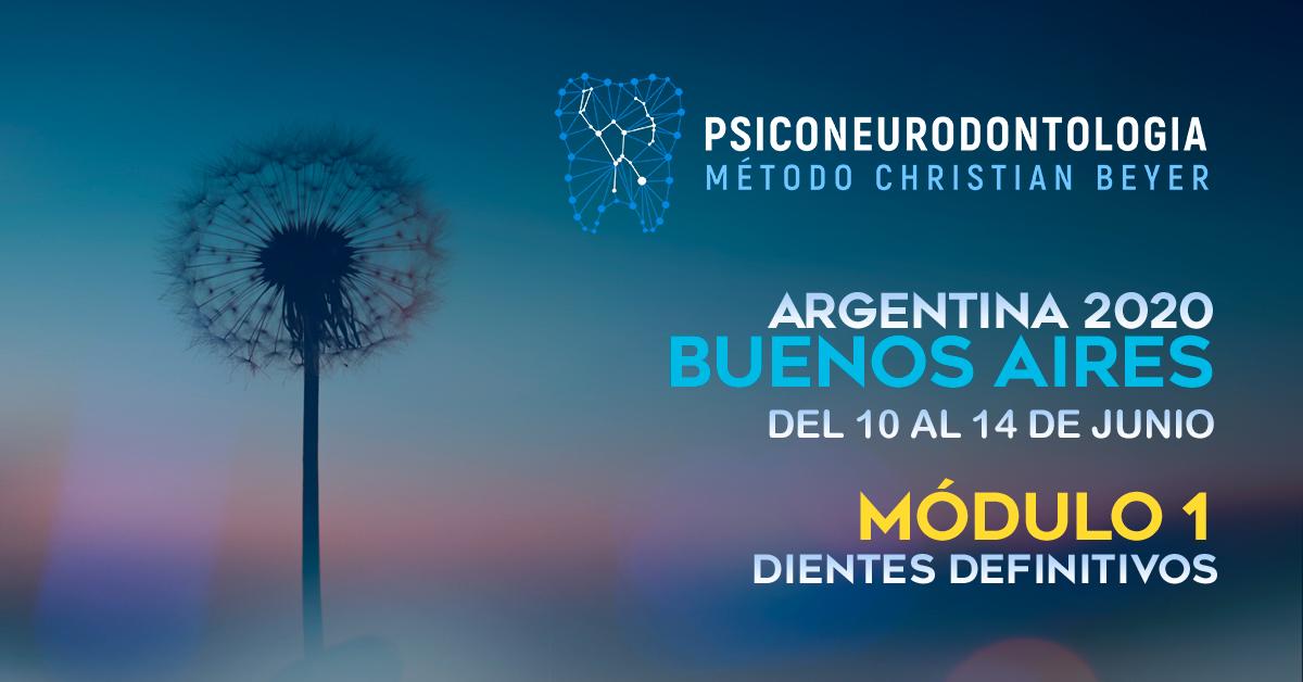 Módulo 1 «Dientes definitivos» – Buenos Aires, Argentina 2020